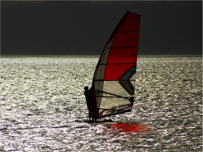 windsurfing-into-a-storm-by-alan-goldby