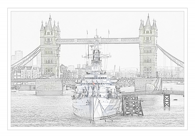 PRINT - tower-bridge-by-peter-darby