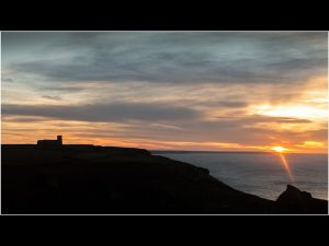 Sunset at Tintagel by Roy - 18