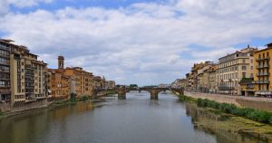 A view from Ponte Vecchio by  Kelly