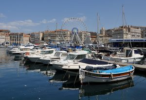 Marseille harbour by Kelly