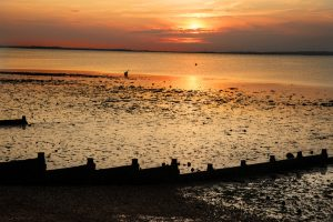 Sunset over Whistable by MichaelC