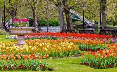 springtime-on-bedford-embankment-3-by-alan-goldby