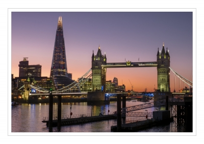 1st PRINT - tower-bridge-at-dusk-by-peter-darby